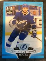 O-Pee-Chee 2019-2020 NIKITA KUCHEROV ALL STAR BLUE BORDER HOCKEY CARD #208