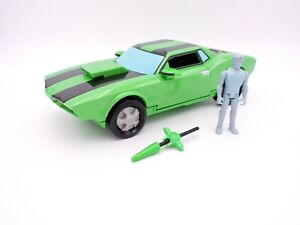 """Kevin Levin's Action Cruiser car BEN 10 Alien Force with figure 2008 Bandai 11"""""""