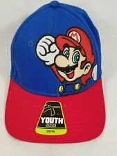 Kids Youth Mario One Size Fits Most Nintendo Licensed Baseball Hat Snapback Cap