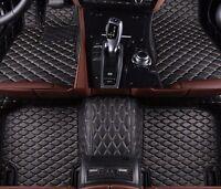 6 Colors Leather Car Floor Mats for Peugeot 308CC 2009-2016 Waterproof Carpets