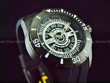 Invicta Men's 48mm Black Combat S1 Rally NH35 Automatic 24J Silicone Strap Watch