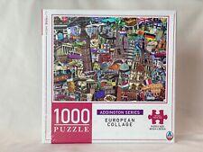 European Collage, New York City, Paris  1000 Piece Jigsaw Puzzle 68.5cm x 50.5cm