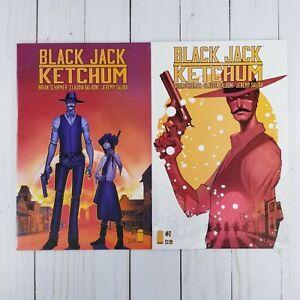 Black Jack Ketchum #1 & #2, Image Comics 2015, VF/NM 9.0