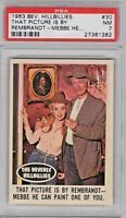 1963 Topps Beverly Hillbillies #30 That Picture Is By Rembrandt  PSA 7