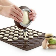 Silicone Macaron Macaroon Pastry Oven Baking Mould Sheet Mat DIY Mold 30-cavity