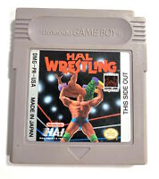 HAL Wrestling - Original Nintendo GameBoy Tested + Working & Authentic!