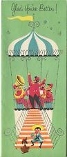 VINTAGE GAZEBO MUSIC CONDUCTOR FRENCH HORN DACHSHUND DOG ICE CREAM CONE CARD