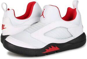 Jordan 5 Retro Little Flex White Black University Red (PS) Size 1Y Low Top Shoes