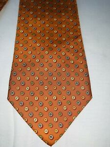 Cravatta Salvatore Ferragamo  100% seta silk nektie cravate krawatte VINTAGE
