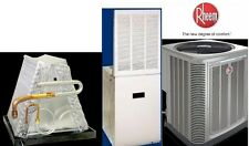 2 Ton R-410A 14SEER Mobile Home Heat Pump System Condenser & Furnace & Coil