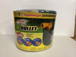 NEW UNUSED Pocket Hose Bullet - 3/4in 50ft, Expanding Hose FREE SHIP