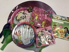 Tinkerbell Birthday Party Pack Plates Napkins Balloons Loot Bags Magical Pixie
