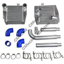 CXRacing Side Mount Intercooler Kit For Mitsubishi 3000GT VR4 Dodge Stealth TD04