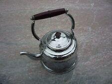 Bouilloire cuivre nickelé anse bakélite/vintage