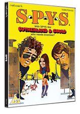 SPYS. Donald Sutherland, Elliott Gould. New sealed DVD.