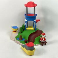 Paw Patrol Weebles Seal Island With Marshall. Pull And Play Boat