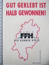 Aufkleber Sticker Radio FFH - Wir kommen rüber (M1374)