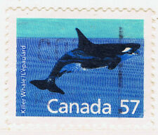 Canada #1173(1) 1988 57 cent MAMMALS DEFINITIVES - KILLER WHALE Used
