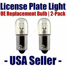 License Plate Bulb 2pk OE Replacement Fits - Listed Merkur Vehicles - 1816