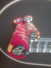 100 Pokerchips / Clay Chips (wie Paulson Chips) POKER made in USA