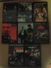 8 - Action DVD's - Public Enemies, Dinner Rush, Casio Royale, Indiana Jones, Etc