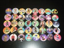 COMPLETE Set of Mighty Morphin Power Rangers Power Caps POGS Tazos w/ Slammers