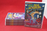 NEW 5 DVD LOT OF AAAHH !!! REAL MONSTERS - THE FINAL SEASON - (2 DVD SET)