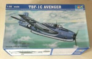 Trumpeter 1/32 TBF-1C Avenger with G Factor Landing Gear