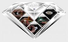 belgium 2018 belgique Diamant Sector luxury jewelery triangular stamp ms5v mnh