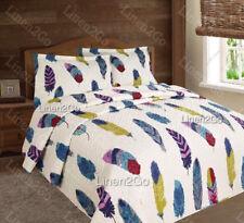 3 Piece Dream Catcher Quilt Set Western Bedspread Comforter Style Bedding Set