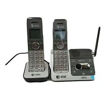 AT&T HD Audio Home Phones Model CL82451 Lot Of Two Silver Phones