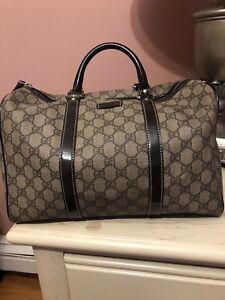 Gucci Vintage Boston handbag authentic, ORIGINAL GG SUPREME CANVAS DUFFLE