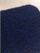 Auslegware Rips Nadelfilz Bodenbelag Teppichboden blau-meliert 200 cm x 11 Meter