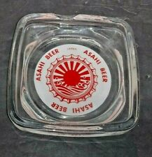 Vintage Asahi Beer Japan Collectible Ashtray