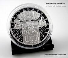 200 Korun Bohemian Adventurer KRYSTOF HARANT - 2014 Czech PROOF Silver Coin