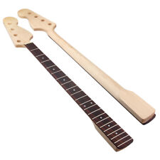 Bass Neck for Precision Guitar Bass Parts 21 Fret Maple Fingerboard