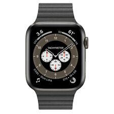 Apple Watch Series 6 Edition GPS + Cellular, 44mm Space Black Titanium Leather