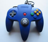 ✅ Blue Nintendo 64 N64 Authentic Video Game Controller Remote Tight Joystick OEM