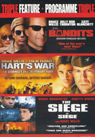 BRUCE WILLIS TRIPLE FEATURE (BANDITS / HART S WAR / THE SIEGE) (BILINGUAL) (DVD)