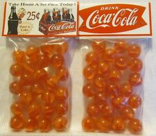2 Bags Of Coca Cola 25 Cent 6 Pack Soda Promo Marbles