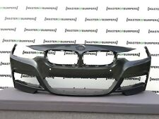 BMW 3 SERIES M SPORT F30 F31 2013-2017 FRONT BUMPER IN GREY NO JETS HOLES [B827]