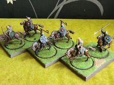 WARHAMMER LOTR - WELL PAINTED MOUNTED RIDERS OF ROHAN