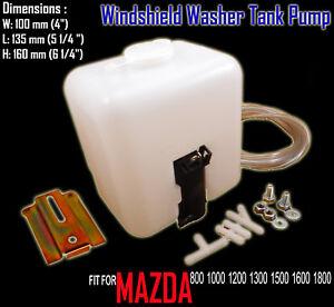 FOR Mazda 800 1000 1200 1300 1500 1600 1800 Windshield Washer Bottle Tank Pump
