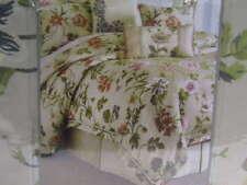 NWT $420 Croscill Daphne king 4 piece comforter set Jacquard Woven Floral