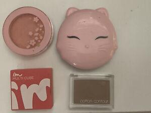 Korean Makeup Cosmetics Contour Powder Blush Eyeshadow Bundle