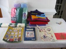 Lot Of Knitting/Crafts Supplies-Yarns-Felt Material & Misc. Fabrics