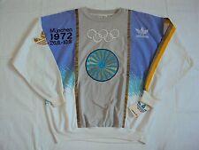 """NWT OLYMPIC VINTAGE """"ADIDAS"""" 1972 OLYMPIC GAMES IN  MUNICH, GERMANY SWEATSHIRT."""