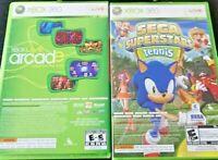 Sega Superstars Tennis / Live Arcade for XBOX 360