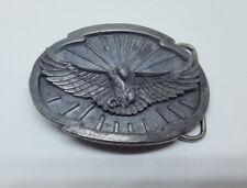 Vintage Siskiyou Flying American Bald Eagle 1988 Belt Buckle W-50