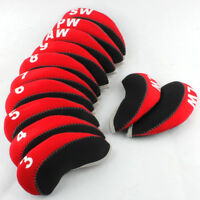 USA Ship 12pcs Golf Iron Headcovers for Taylormade Titleist Cobra Callaway 3#-Lw